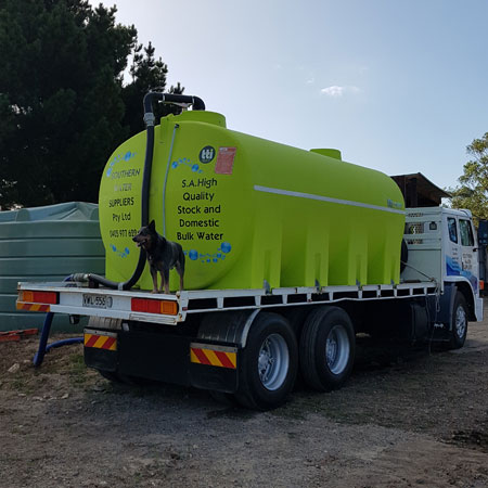 Water Cartage Strathalbyn, Water Supply Victor Harbour, Water Delivery Willunga